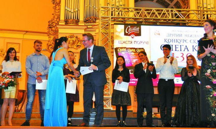Найкраща скрипалька – кореянка Еллі Сах з Америки